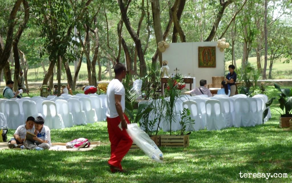 holy carabao altar