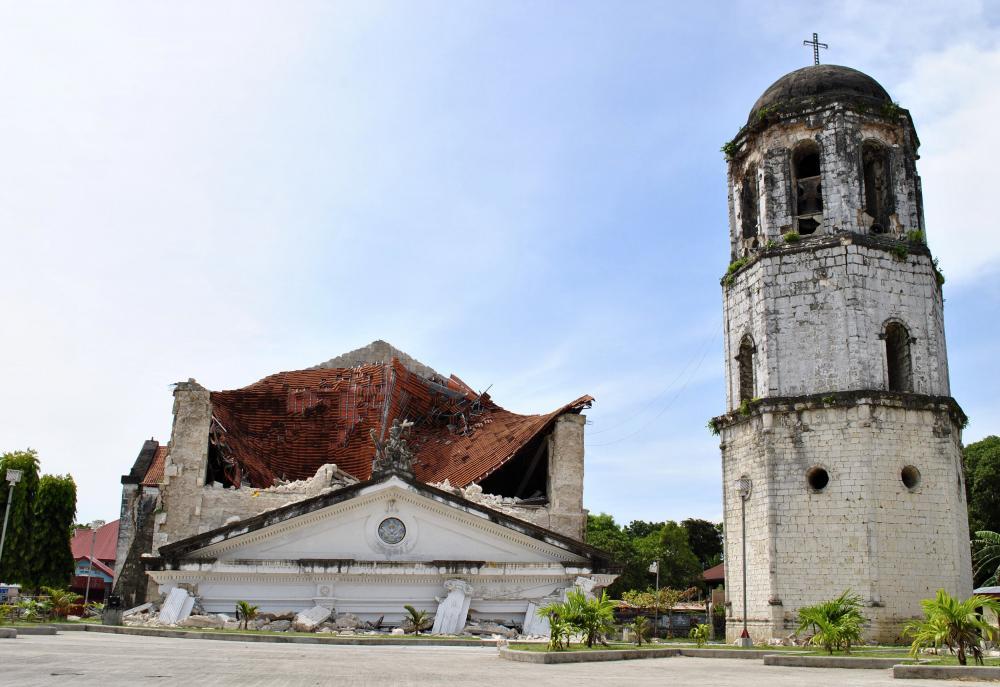 Loay Church damage