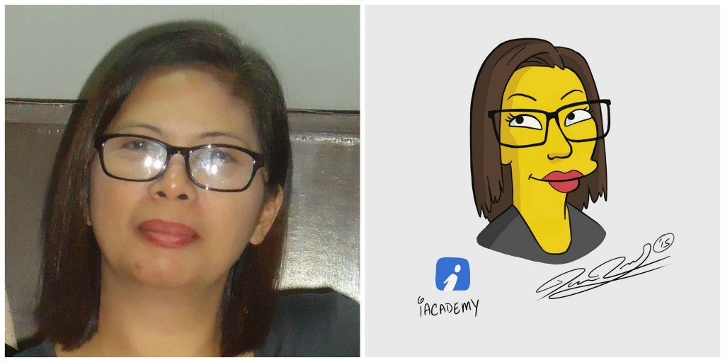 Simpsonized Teresay