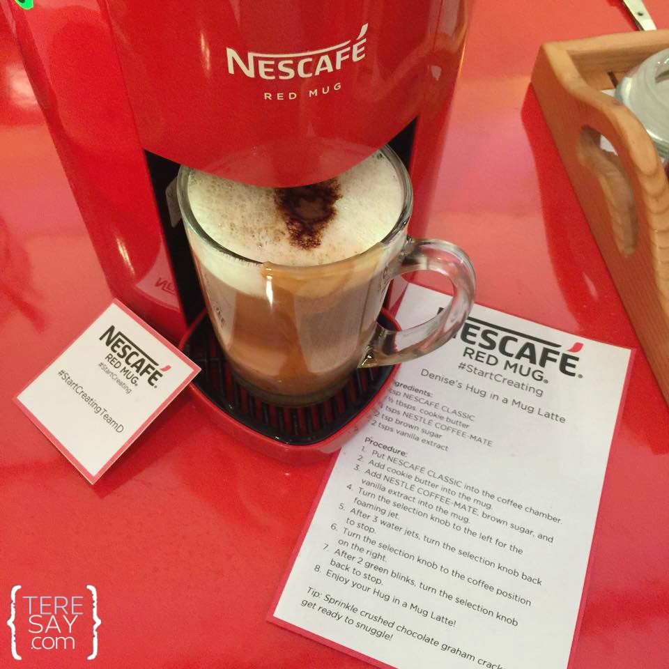 Let's With Red Creating Mug Nescafe MachineTeresay Start 0kw8NnOPX
