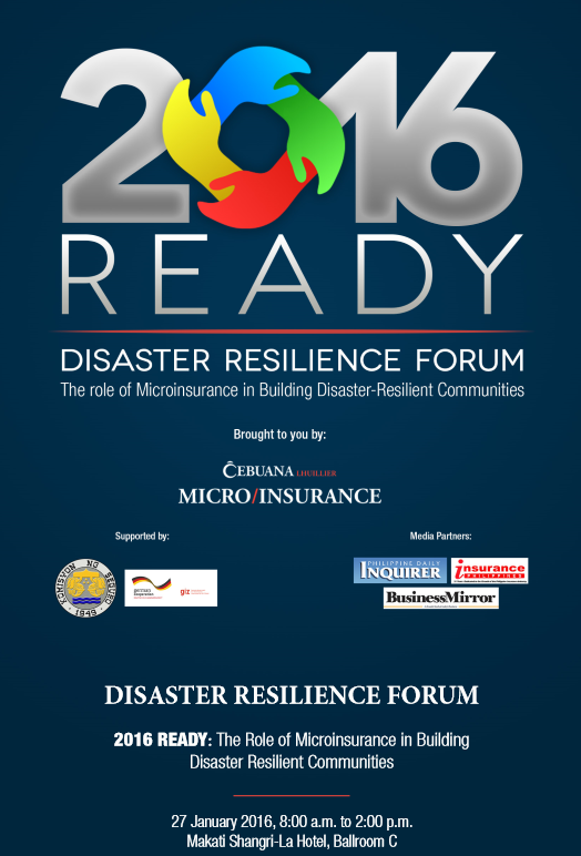 disaster resiliency forum