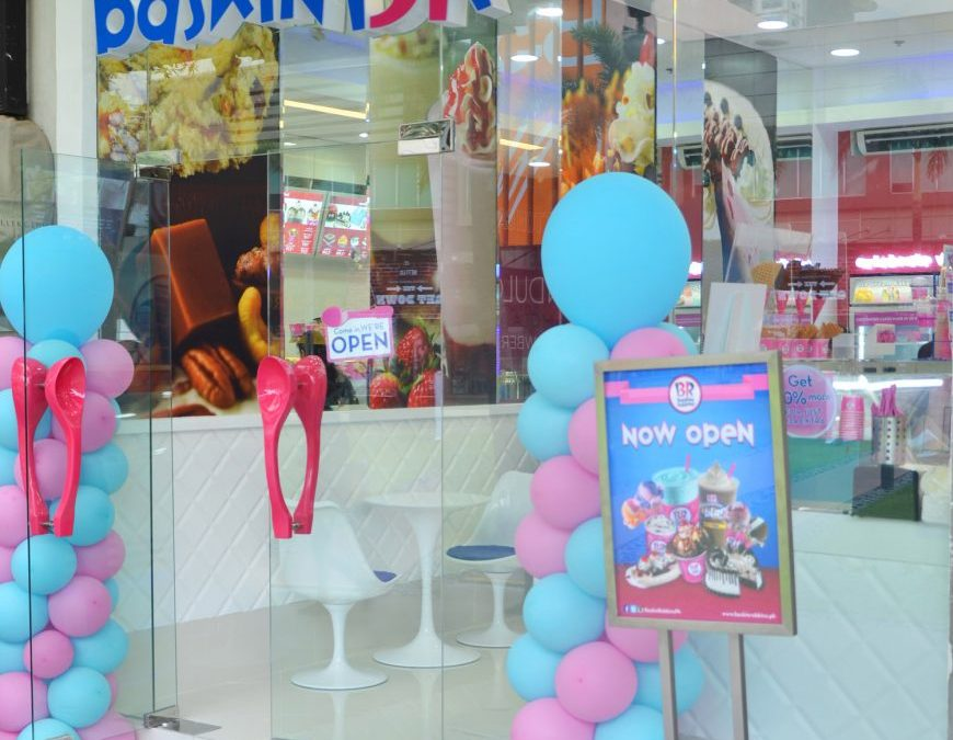 Baskin-Robbins Opens 14th Branch at BGC High Street