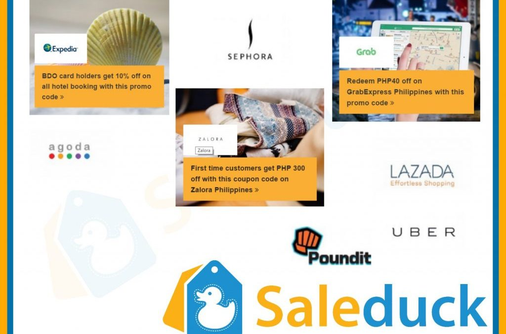 Saleduck PH Makes Online Shoppers Happy with Coupons