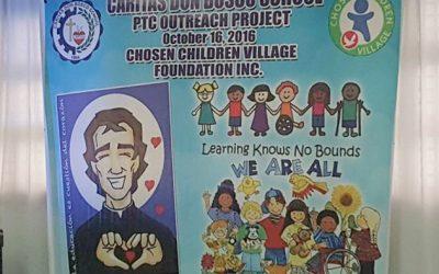 CDBS-PTC Outreach Project at Chosen Children Village