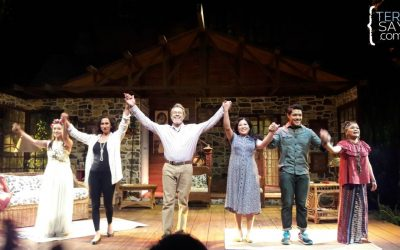 Vanya and Sonia and Masha and Spike from Repertory Philippines